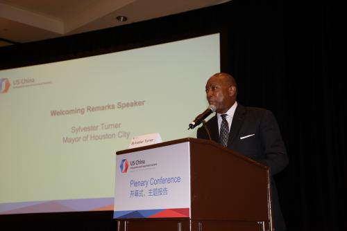 Mayor Houston City at  China Innovation summit
