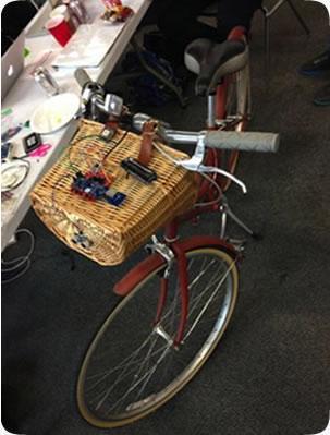 Smart Bike uses the C2M