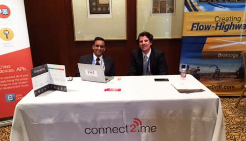 C2M Team members ready to discuss IoT and Digital Transformation at the China Innovation Summit 2016 in Houston, TX