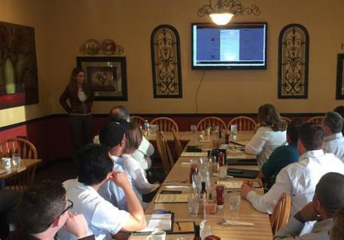 Team Member, Paula Simoes, presents C2M® platform to IoT thought leaders in Dallas, TX